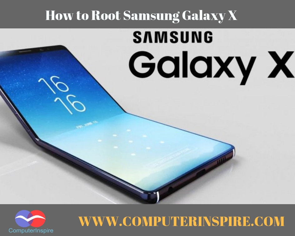 How to Root Samsung Galaxy X without PC - Root Foldable Phone