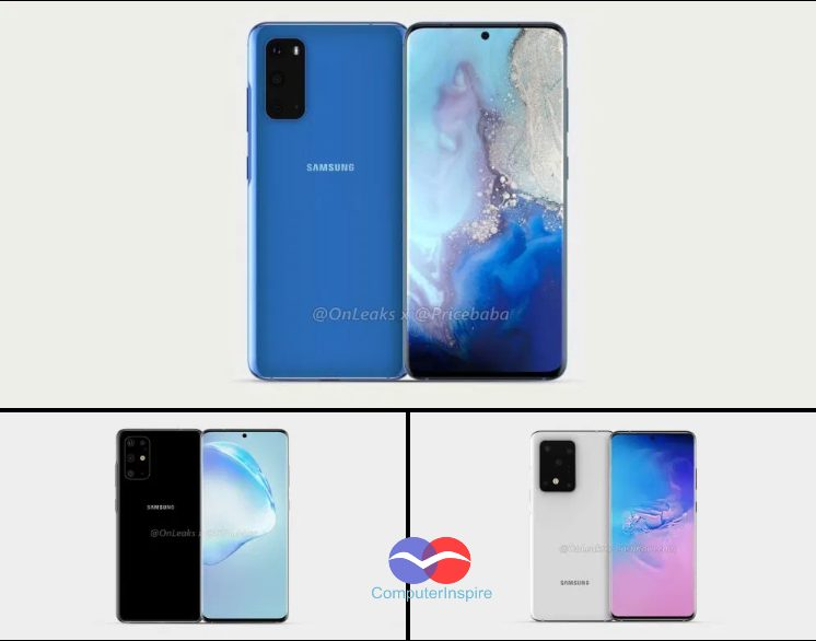 Samsung Galaxy S20 model number and variants