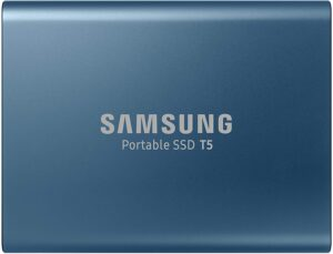 Samsung T5Portable SSD Card for Laptops