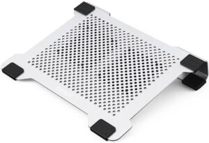 """ORICO Laptop Cooling Pad Stand with USB Powered Fan at 3000±10% RPM Aluminum Radiator for MacBook Air Pro 14-17"""" Notebook Roll over image to zoom in ORICO Laptop Cooling Pad Stand with USB Powered Fan"""