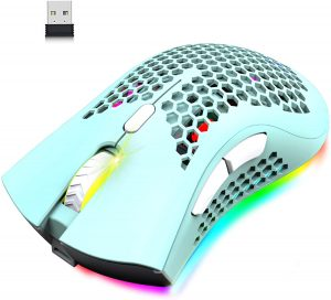 Wireless Lightweight Gaming Mouse Honeycomb
